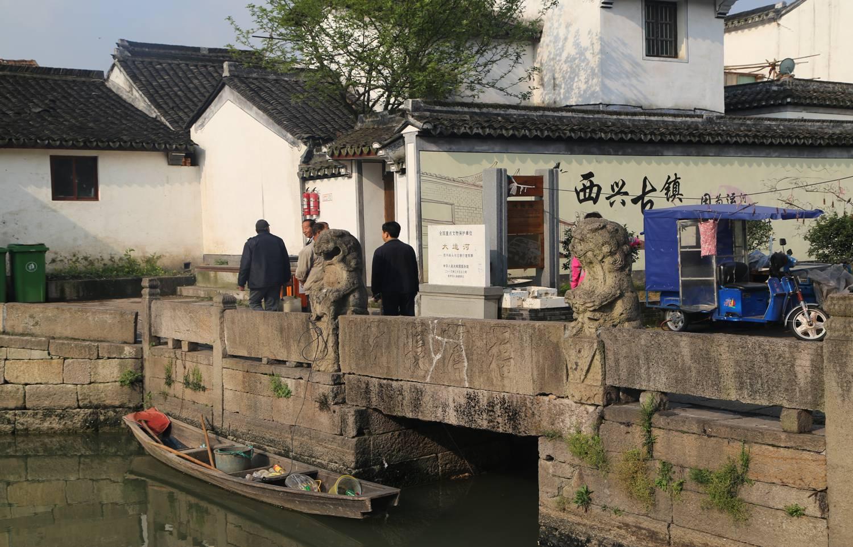 杭州西兴镇运河古船闸